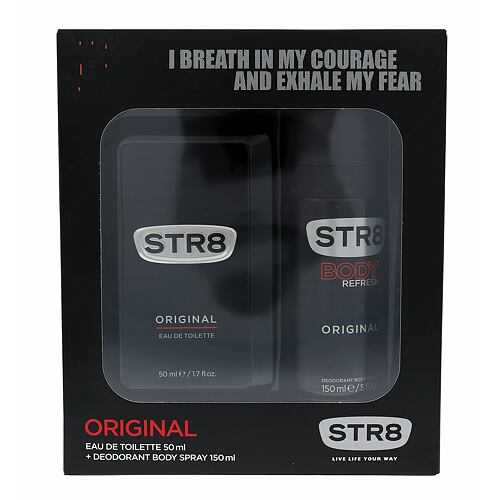 STR8 Original EDT EDT 50 ml + deodorant 150 ml pro muže