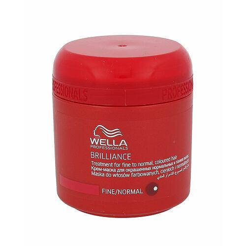 Wella Brilliance Normal Hair maska na vlasy 150 ml pro ženy
