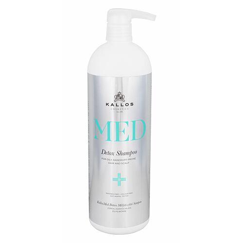 Kallos Cosmetics MED Detox šampon 1000 ml pro ženy