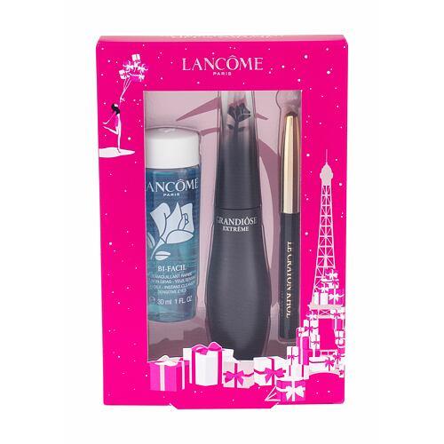Lancome Grandiose Extreme řasenka řasenka 10 ml + tužka na oči Le Crayon Khol 0,7 g 01 Noir + odličovací přípravek na oči Bi-Facil 30 ml pro ženy