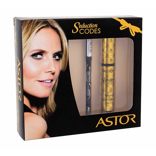 ASTOR Seduction Codes No1 Volume & Definition řasenka řasenka 10,5 ml + kajalová tužka na oči Khol Kajal & Contour 2in1 3 g 080 Black pro ženy