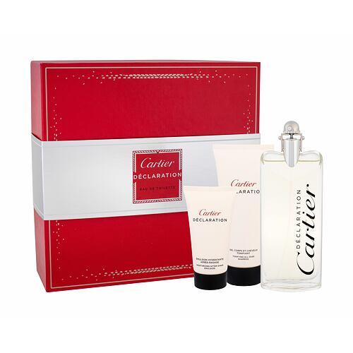 Cartier Déclaration EDT EDT 100 ml + sprchový gel 100 ml + balzám po holení 50 ml pro muže