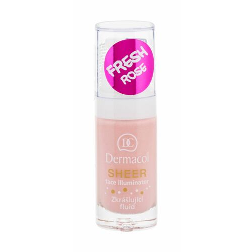 Podklad pod makeup Dermacol Sheer Face Illuminator 15 ml fresh rose