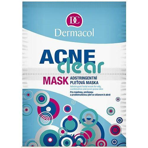 Dermacol AcneClear pleťová maska 16 g pro ženy