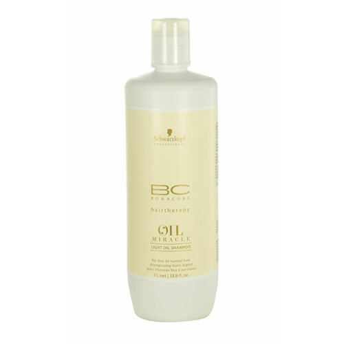Schwarzkopf BC Bonacure Oil Miracle Light Oil šampon 1000 ml pro ženy