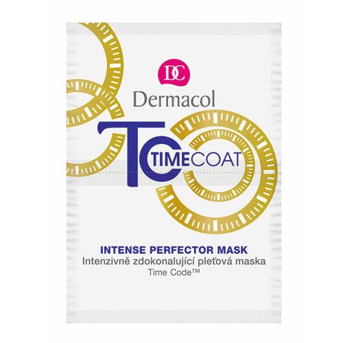 Dermacol Time Coat Intense Perfector pleťová maska 16 g pro ženy