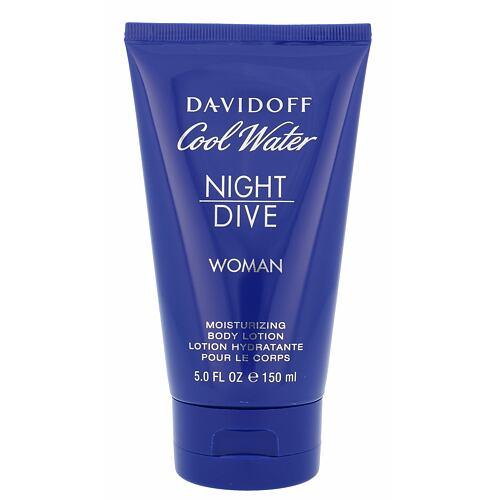 Davidoff Cool Water Night Dive tělové mléko 150 ml pro ženy