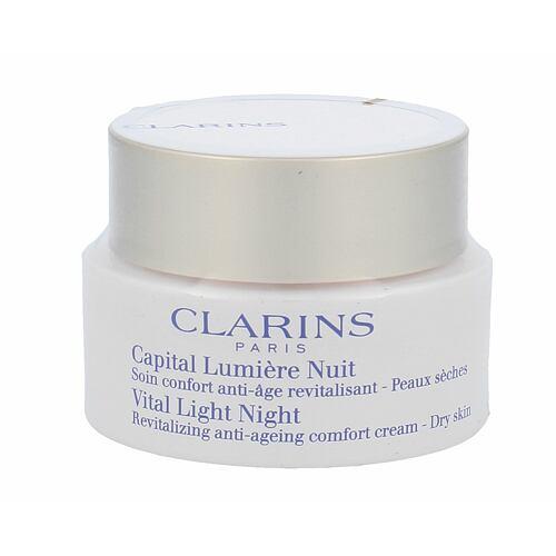 Clarins Vital Light denní pleťový krém 50 ml Tester pro ženy