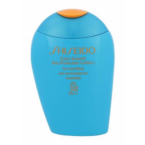 Shiseido Extra Smooth Sun Protection opalovací přípravek na tělo 100 ml Tester pro ženy