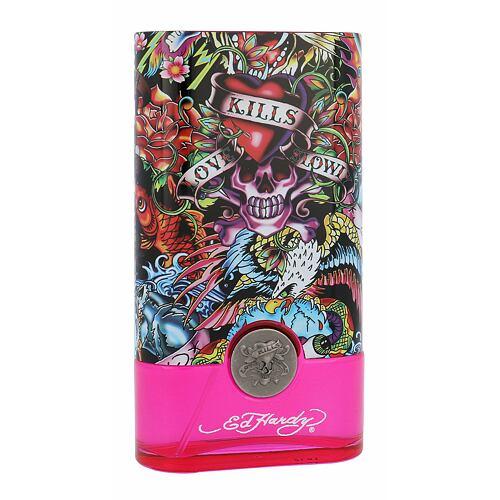 Christian Audigier Ed Hardy Hearts & Daggers EDP 100 ml pro ženy