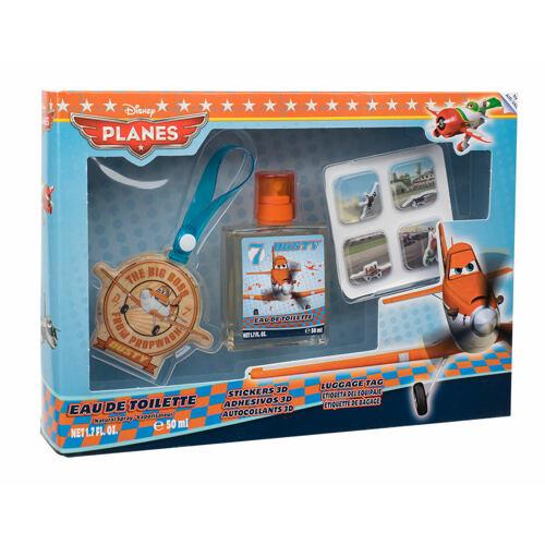 Disney Planes EDT EDT 50 ml + 3D samolepky + jmenovka na zavazadla Unisex