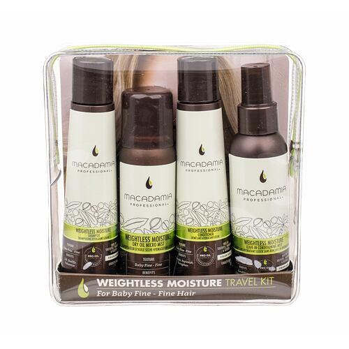 Macadamia Weightless Moisture šampon dárková kazeta pro ženy