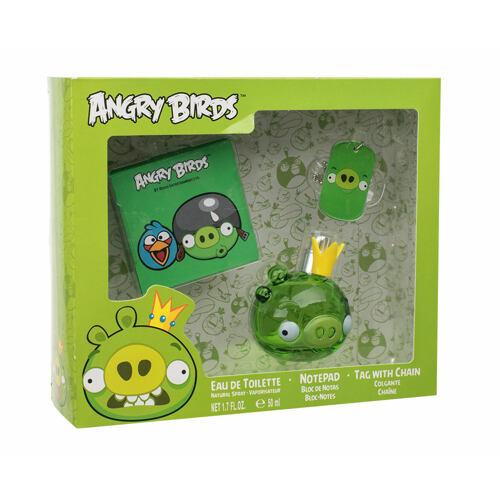 Angry Birds Angry Birds King Pig EDT EDT 50 ml + poznámkový blok + přívěšek na krk Poškozená krabička Unisex