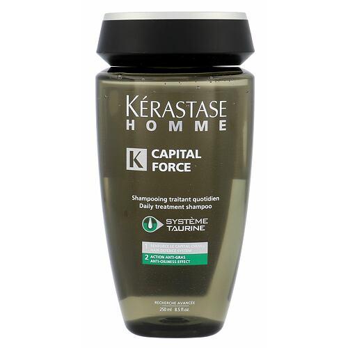 Kérastase Homme Capital Force AntiOiliness Effect šampon 250 ml pro muže