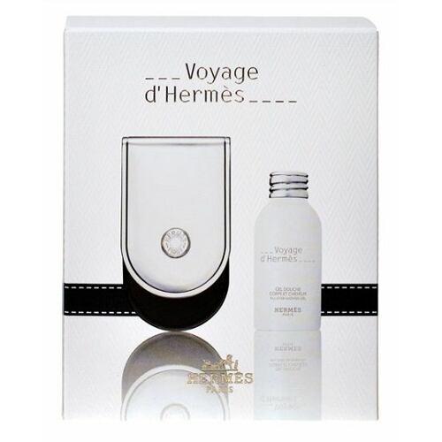 Hermes Voyage D´Hermes parfém parfém 35 ml + sprchový gel 30 ml Poškozená krabička Unisex