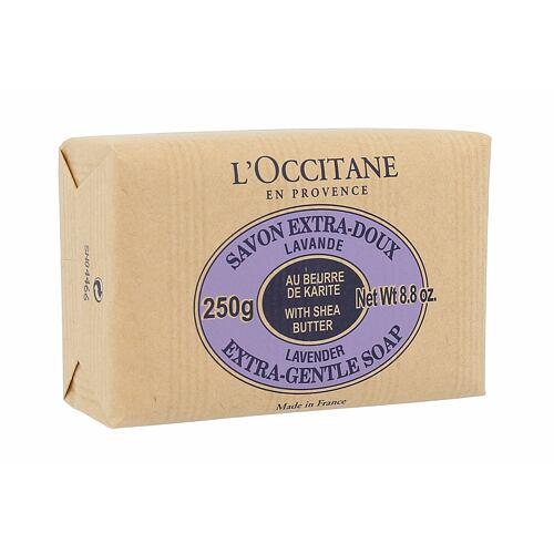 L´Occitane Lavender tuhé mýdlo 250 g pro ženy