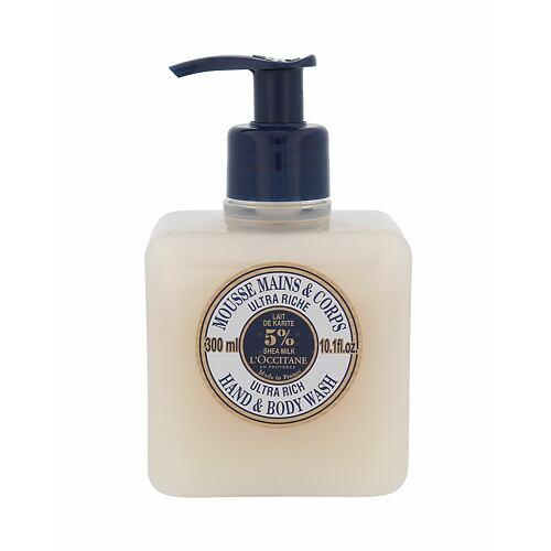 L´Occitane Shea Butter Ultra Rich tekuté mýdlo 300 ml pro ženy