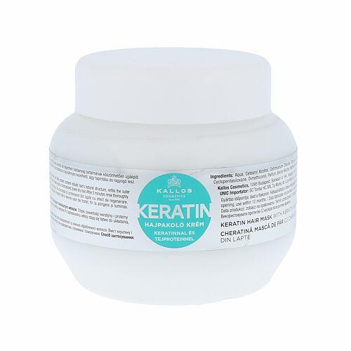 Kallos Cosmetics Keratin maska na vlasy 275 ml pro ženy