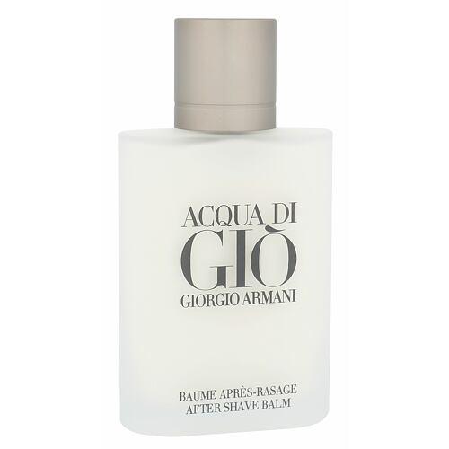 Giorgio Armani Acqua di Gio Pour Homme balzám po holení 100 ml Poškozená krabička pro muže