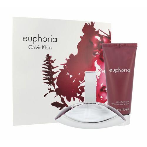 Calvin Klein Euphoria EDP EDP 50 ml + tělové mléko 100 ml pro ženy