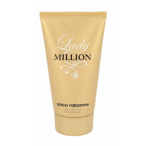 Paco Rabanne Lady Million sprchový gel 150 ml pro ženy