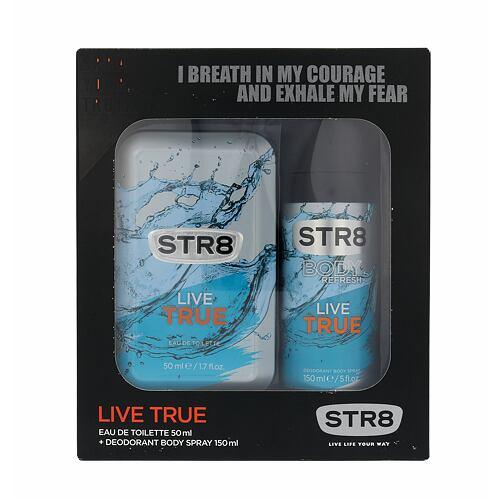 STR8 Live True EDT EDT 50 ml + deodorant 150 ml pro muže