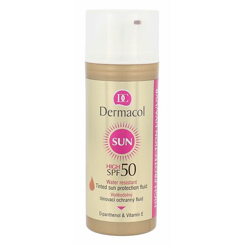 Dermacol Sun opalovací přípravek na obličej 50 ml pro ženy