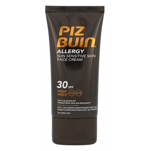 PIZ BUIN Allergy Sun Sensitive Skin Face Cream opalovací přípravek na obličej 50 ml Poškozená