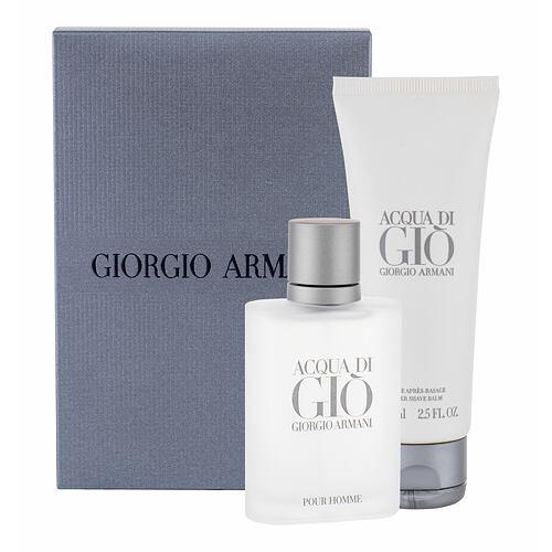 Giorgio Armani Acqua di Gio Pour Homme EDT EDT 50 ml + balzám po holení 75 ml pro muže