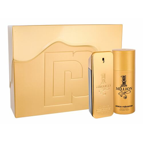 Paco Rabanne 1 Million EDT EDT 100 ml + deosprej 150 ml pro muže