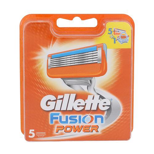 Gillette Fusion Power náhradní břit 5 ks pro muže
