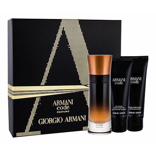 Giorgio Armani Code Profumo EDP EDP 60 ml + sprchový gel 75 ml + balzám po holení 75 ml pro muže