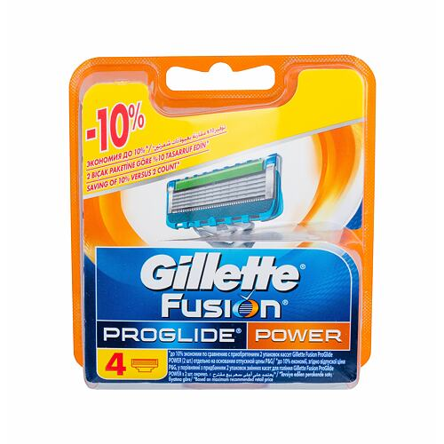 Gillette Fusion Proglide Power náhradní břit 4 ks pro muže